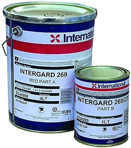 Bateauplus INTERGARD 269 4L Base.Rouge
