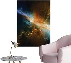Wall Decals Astromy Celestial Meteorite Supernova Dark Mysterious Space Environmental Protection Vinyl,24
