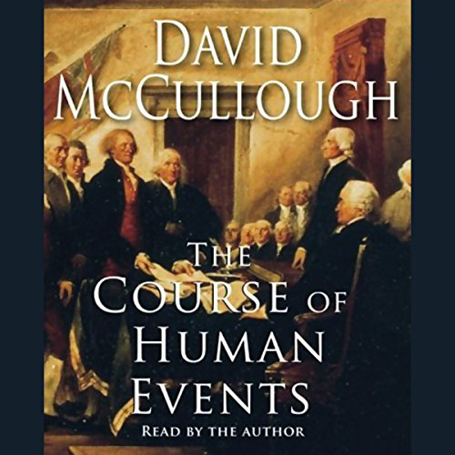 The Course of Human Events audiobook cover art