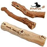Knorzi® - Bio Kauholz für den Hund - Größe M -Hundespielzeug - Kauknochen - Kauvergnügen - Beschäftigungsspielzeug - nachhaltiges, biologisches Produkt - EINWEG