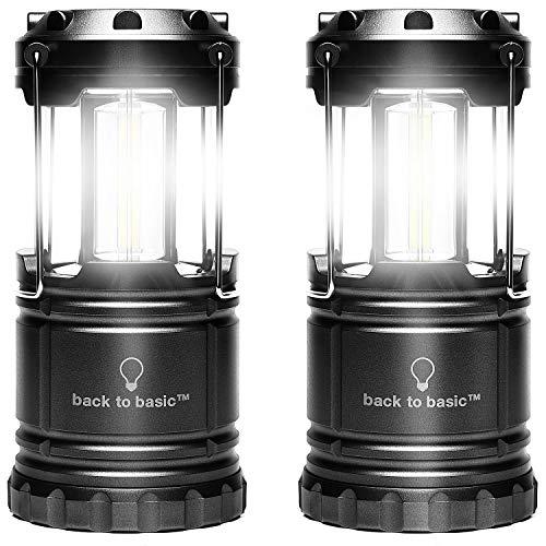 [btb] LEDランタン 電池式 高輝度 500ルーメン キャンプ 防災 停電時用 2個入