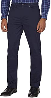 Men's Brushed Bedford Slim Straight Twill Pant