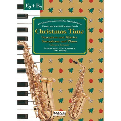 Hage - Christmas Time, saxofoon + piano