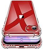 Garegce Coque Compatible avec iPhone Se 2020/7 / 8, 3 Pack Verre Trempé Protection...