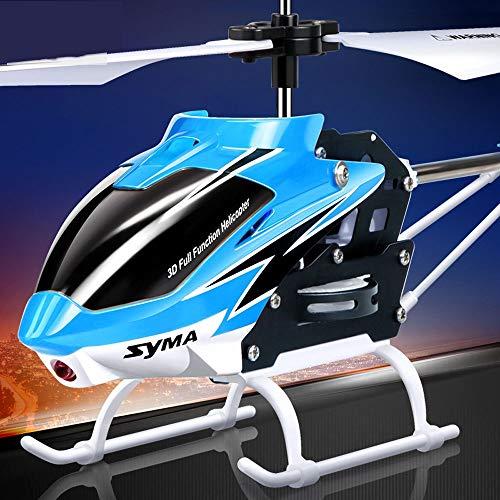 DBXMFZW Helicóptero de Control Remoto Gyro de Tres Canales Auto-Balance automático RC...