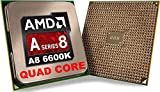 Amd A8. 6600K Quad. Core (4 Core) 3.90 Ghz Processor . Socket Fm2oem Pack . 4 Mb . Yes . 4.20 Ghz Overclocking Speed . 32 Nm . Amd Radeon Hd 8570D Graphics . 100 W . 165.2 F (74 C) 'Product Type: Electronic Components/Microprocessors'