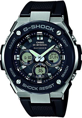 CASIO Herren Digital Uhr mit Harz Armband GST-W300-1AER