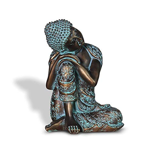 PRDECE Buddha Buddha Statue Sleeping Figurine Ornaments Of Monk Tathagata India Yoga Mandala Buddhism Resin Sculptures Home Decor