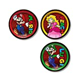 American Greetings Super Mario 8 Count Dessert Small Plate