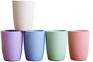 Sponsored Ad - Choary Eco-friendly Unbreakable Reusable Drinking Cup for Adult(12 OZ), Wheat Straw Biodegradable Healthy T...