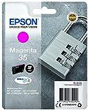 Epson DURABrite Ultra Ink, Cartucho de Tinta para Impresoras, 35 Normal, Magenta