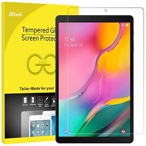 JETech Schutzfolie Kompatibel mit Samsung Galaxy Tab A 10.1 2019 (SM-T510/T515), Gehärtetem Glas Displayschutzfolie
