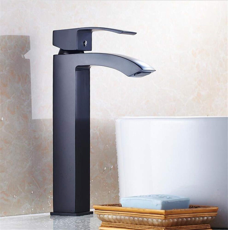Bathroom Sink Basin Lever Mixer Tap Gaotai Basin Sickle Faucet Bathroom Basin Faucet Cold and Hot Water Faucet