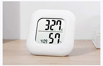 NA YAJJA Termómetro electrónico Inicio de precisión de Temperatura Interior higrómetro Sitio del bebé Farmacia Temperatura higrómetro de Alta precisión (Color : C)