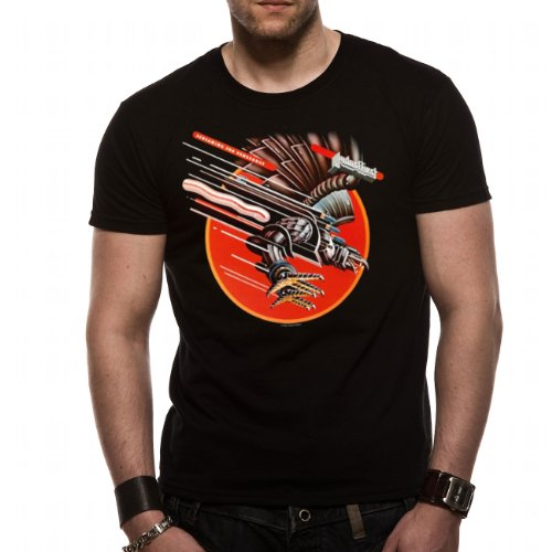 JUDAS PRIEST - SCREAMING FOR VENGEANCE T-Shirt Schwarz - Schwarz L