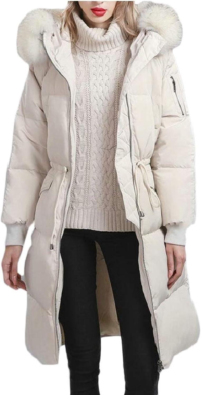 Keaac Women Military Warm Winter Parkas Coats Hooded Jackets
