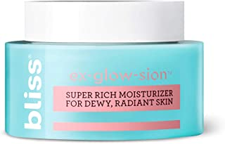 Sponsored Ad - Bliss Ex-glow-sion Super Rich Face Moisturizer for Dewy, Radiant Skin | Advanced Shea Butter Nourishes & Hy...