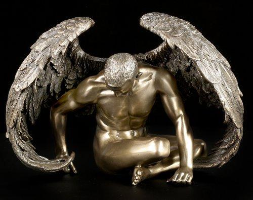 Unbekannt Gefallener Engel - Angels Rest - Männliche Akt Figur