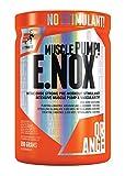 Extrifit E.NOX Shock Paquete de 1 x 690 g - NO Booster - Aminoácido - Arginina AKG - Citrulina - Beta Alanina - Taurina - Creatina y Extracto de Té Verde con Cafeína (Orange)