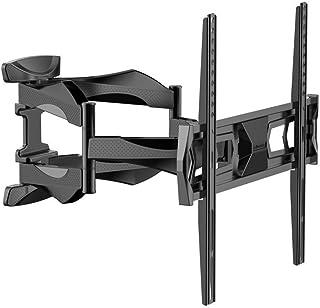 Loctek テレビ壁掛け金具 テレビマウント 液晶テレビ32~55インチ対応 ダブルアームタイプ 前後&左右角度調節 J6