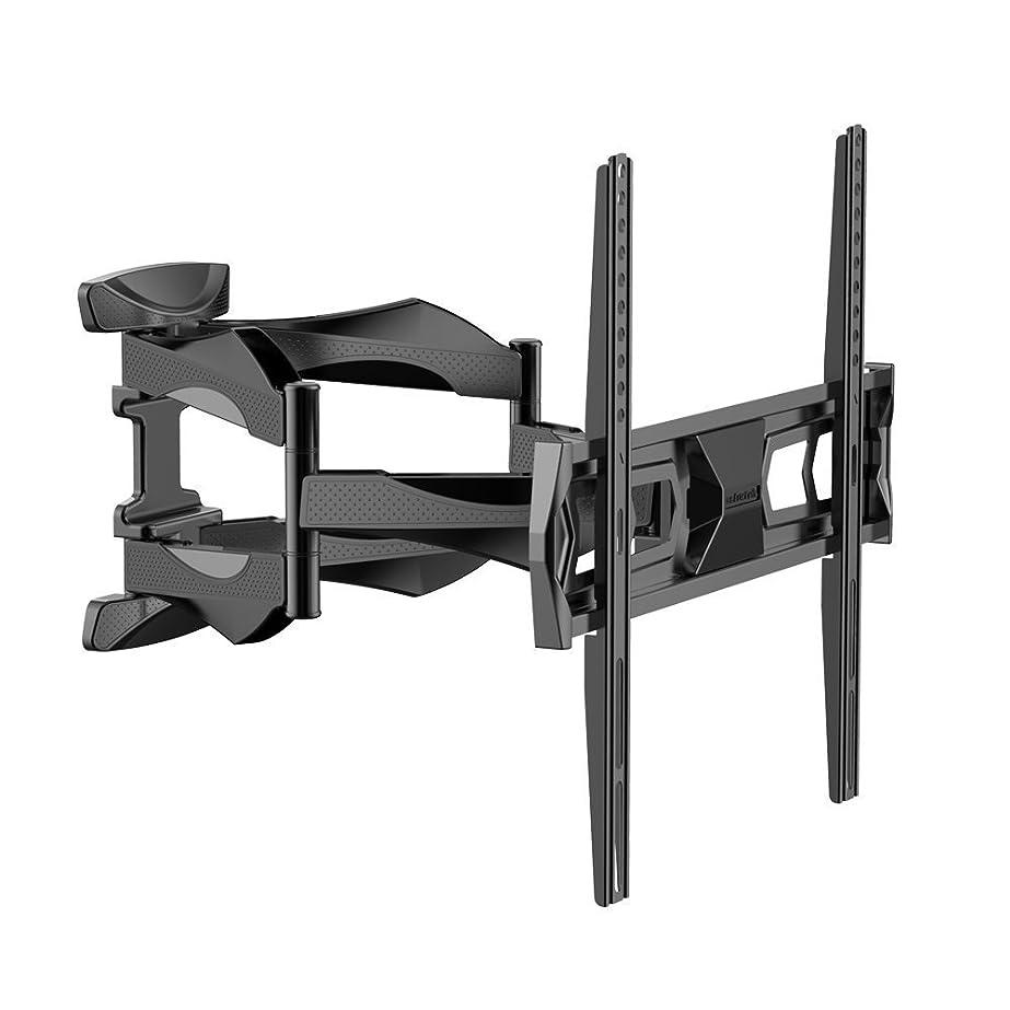についてラバ帰るLoctek テレビ壁掛け金具 テレビマウント 液晶テレビ32~55インチ対応 ダブルアームタイプ 前後&左右角度調節 J6