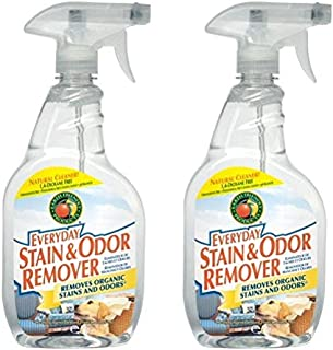 Earth Friendly Products Everyday Stain and Odor Remover Spray, 22 Oz (Pack of 2)
