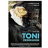 DNJKSA Toni Erdmann 2016 Film Druck Leinwand Kunst Poster