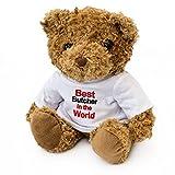 London Teddy Bears Oso de Peluche con Texto en inglés «Best Butcher in The World»