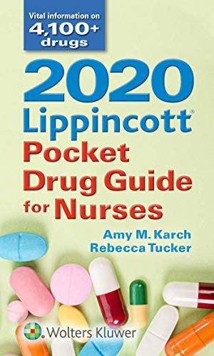 Compare Textbook Prices for 2020 Lippincott Pocket Drug Guide for Nurses Eighth Edition ISBN 9781975136918 by Tucker, Rebecca