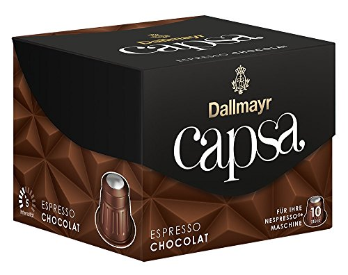 Dallmayr Capsa Espresso Chocolat, 5er Pack (5 x 56 g)