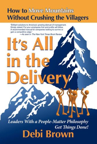 It's All in the Delivery: How to Move Mountains Without Crushing the Villagers