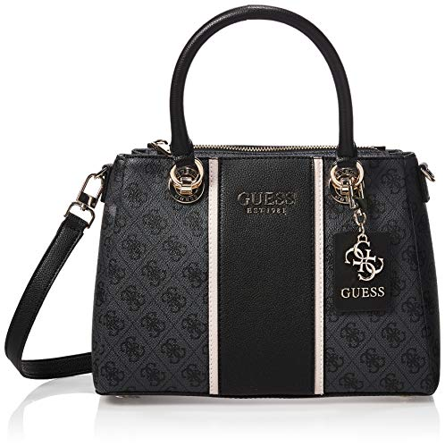 Guess Cathleen 3 Compartment Satchel Coal