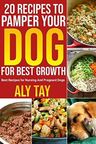 20 RECIPES TO PAMPER YOUR DOG FOR BEST GROWTH: Best Recipes for Nursing And Pregnant Dogs (English Edition)