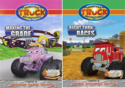 DVD - Monster Truck Adventures: Making The Grade/Right Turn Races-2 by Monster Truck Adv