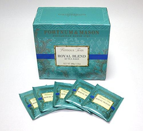 British Royal Warrant Fortnum & Mason Royal blend tea 'box type' (tea bag 50 input) Fortnum & Mason ROYAL BLEND