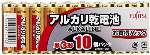 FDK ALKALINE アルカリ乾電池 単3形 お買得パック 10個