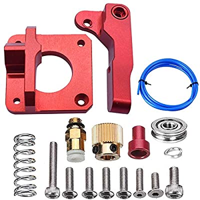 YONMEIA MK8 Extruder Upgrade Aluminum Bowden extruder Drive Feed Kit for Creality Ender 3,CR-7,CR-8, CR-10, CR-10S, CR-10 S4,and CR-10S5