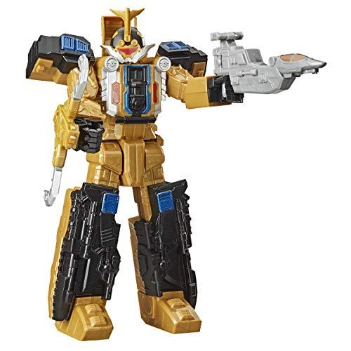 Power Rangers Beast Morphers Beast Wrecker Zord 10-Inch Action Figure Toy Inspired by Gold...