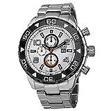 August Steiner Men's AS8130SSW Analog Display Swiss Quartz Silver Watch