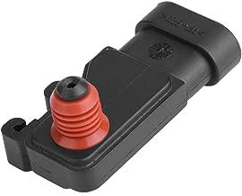 Qiilu Manifold Absolute Pressure MAP Sensor for Acura Buick Chevrolet GMC Pontiac 12614970
