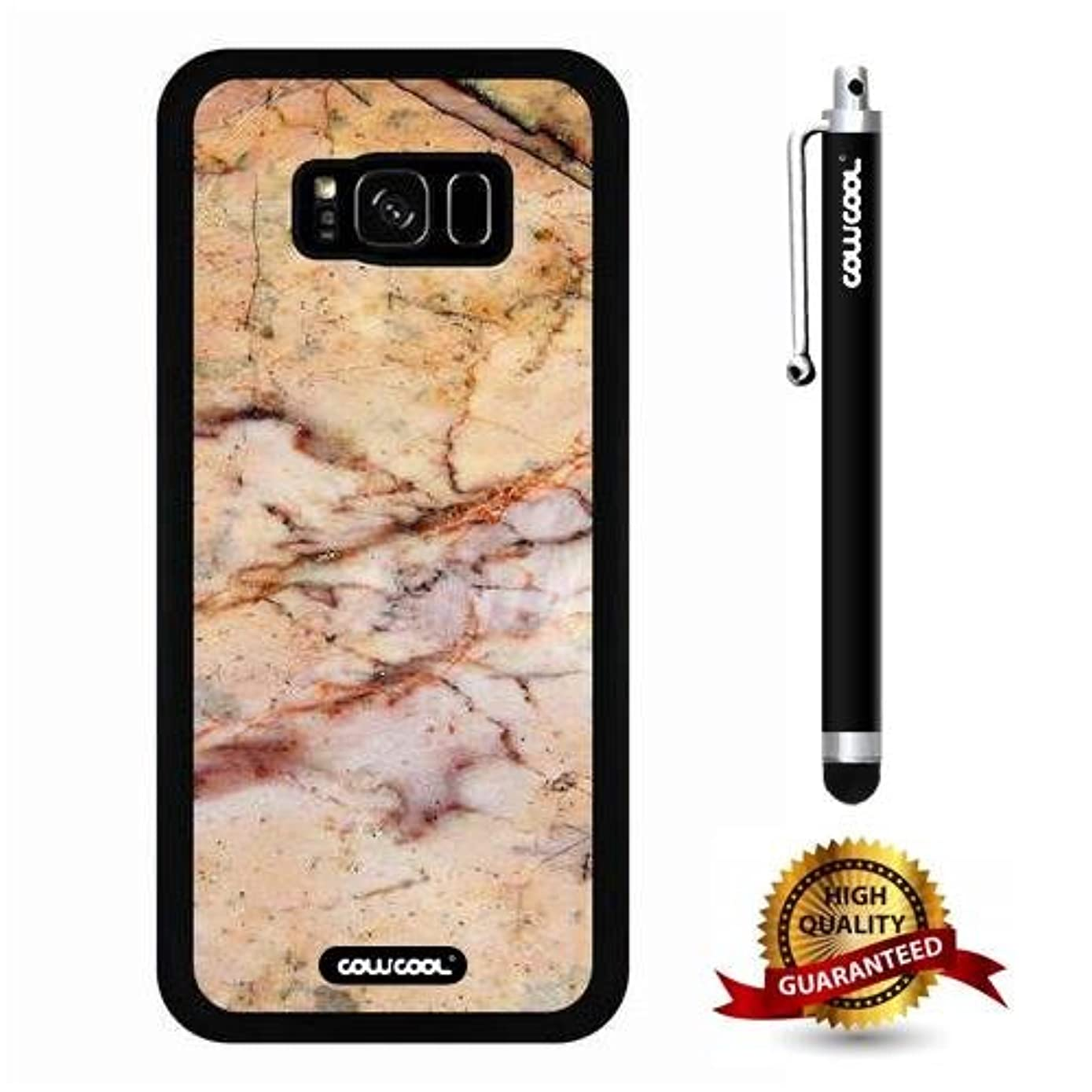 Galaxy S8 Plus Case, Marble Pattern Case, Cowcool Ultra Thin Soft Silicone Case for Samsung Galaxy S8 Plus - Slash The Times Marble Texture