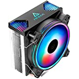 Antec CPU Cooler, Rainbow LED Fan 120mm, for Intel LGA 1150/1151/1155/1156 & AMD Socket FM1/FM2/FM2+/AM3/AM3+/AM2+/AM2/AM4, Frigus Air 400