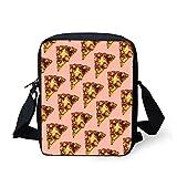CHAQLIN, Kinder Umhängetasche Pink Pizza S