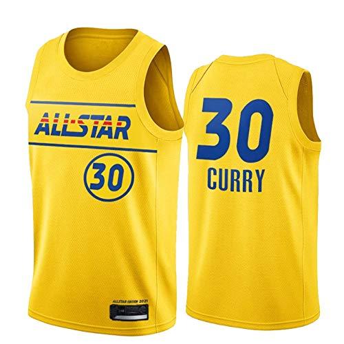 NHICR Outdoors Curry Basketball Trikots Man Warriors Weste Tops Retro Sportbekleidung ärmellos Basketball Fitness Trikot atmungsaktiv Sport Fan T-Shirts 2021 Neue Edition A-M
