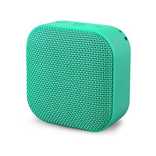 Bluetooth-Lautsprecher, Drahtlose Bluetooth Tragbare Mini-Stereo-Musik Im Freien Freisprecheinrichtung Für Outdoor-Fans Großvolumige Kleine Stahlpistolen Für Den Heimgebrauch,Grün