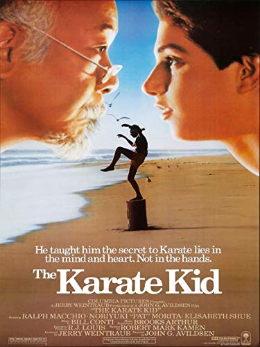 Credence Collections Filmposter The Karate Kid, selbstklebend, 30,5 x 40,6 cm