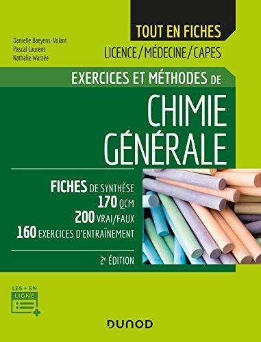 Chimie générale - 2e éd. - Exercices et méthodes: Exercices et méthodes