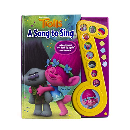 DreamWorks Trolls Deluxe Music Note Sound Book (Play-a-Song) - PI Kids