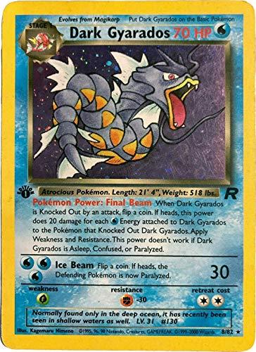 Pokemon - Dark Gyarados (8/82) Prom…