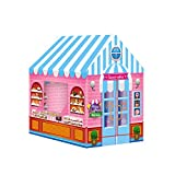 Gfhrisyty Tienda de CampaaA para NiiOs Princess Prince House Casa de Juegos para NiiOs Tienda de CampaaA Tipi Plegable PortáTil Carpas de Juguete Al Aire Libre para NiiOs